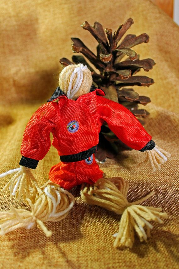 Folk Art Doll Handmade Toy by ADKArtsBoutique on Etsy