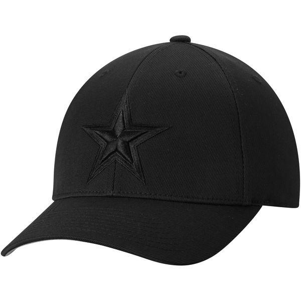 69d80a968 Men s Dallas Cowboys Black Total Tonal Star Flex Hat
