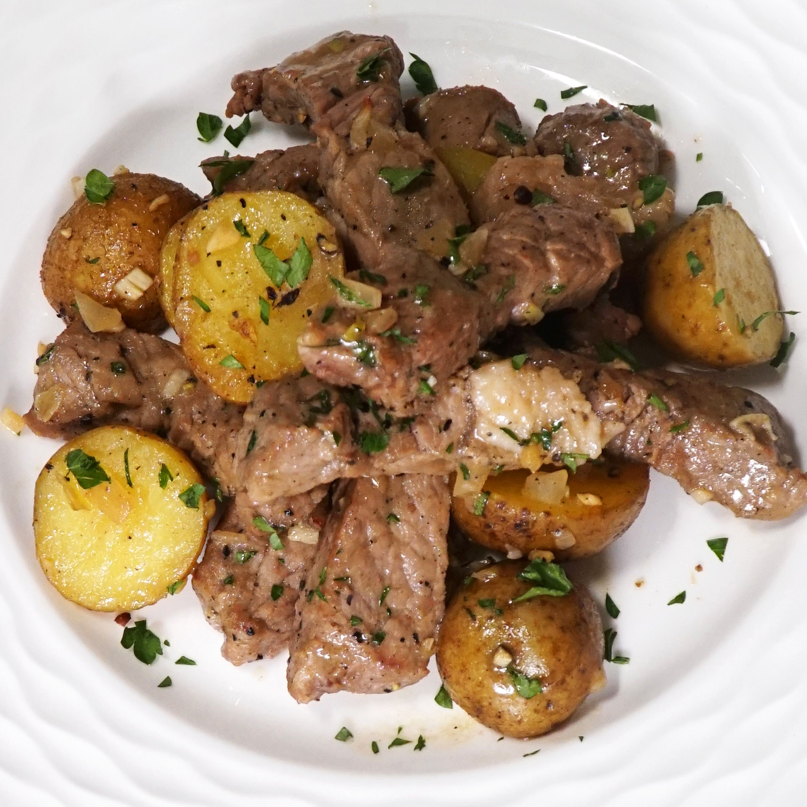 Resep Garlic Steak Potato Resep Resep Daging Sapi Resep Daging Resep