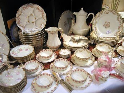 Antique Dishes | ANTIQUE HAVILAND LIMOGES CHINA TO BE FEATURED AT ...