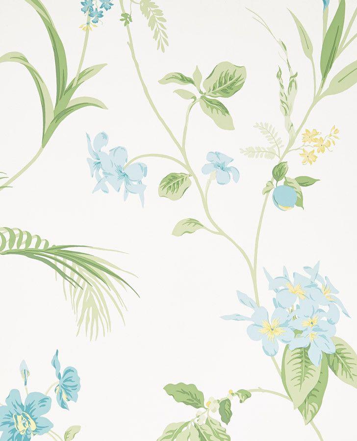 Laura Ashley Kitchen Wallpaper: Laura Ashley - Orchid Apple #3621170 $46