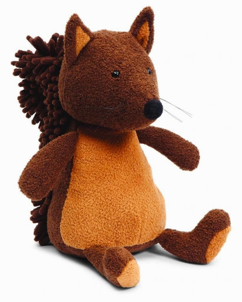 The Gilded Lily Home Plush Woodland Animals For Autumn Baby Showers Jellycat Noodles Squirrel In Medium 22 Or In Small 14 Plush Toy Squirrel Toys [ 1024 x 822 Pixel ]