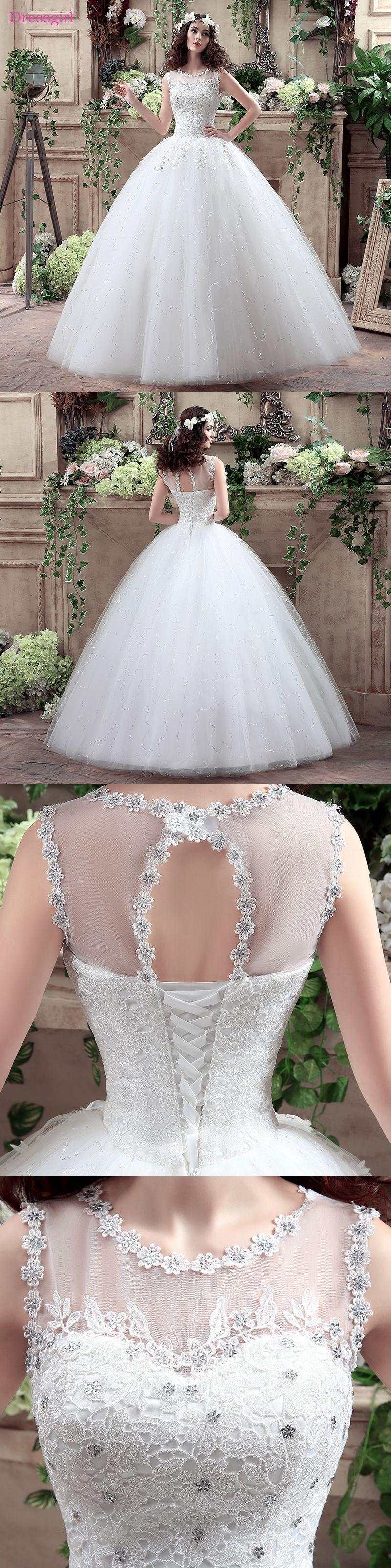 Plus size vestido de noiva wedding dresses ball gown tulle lace
