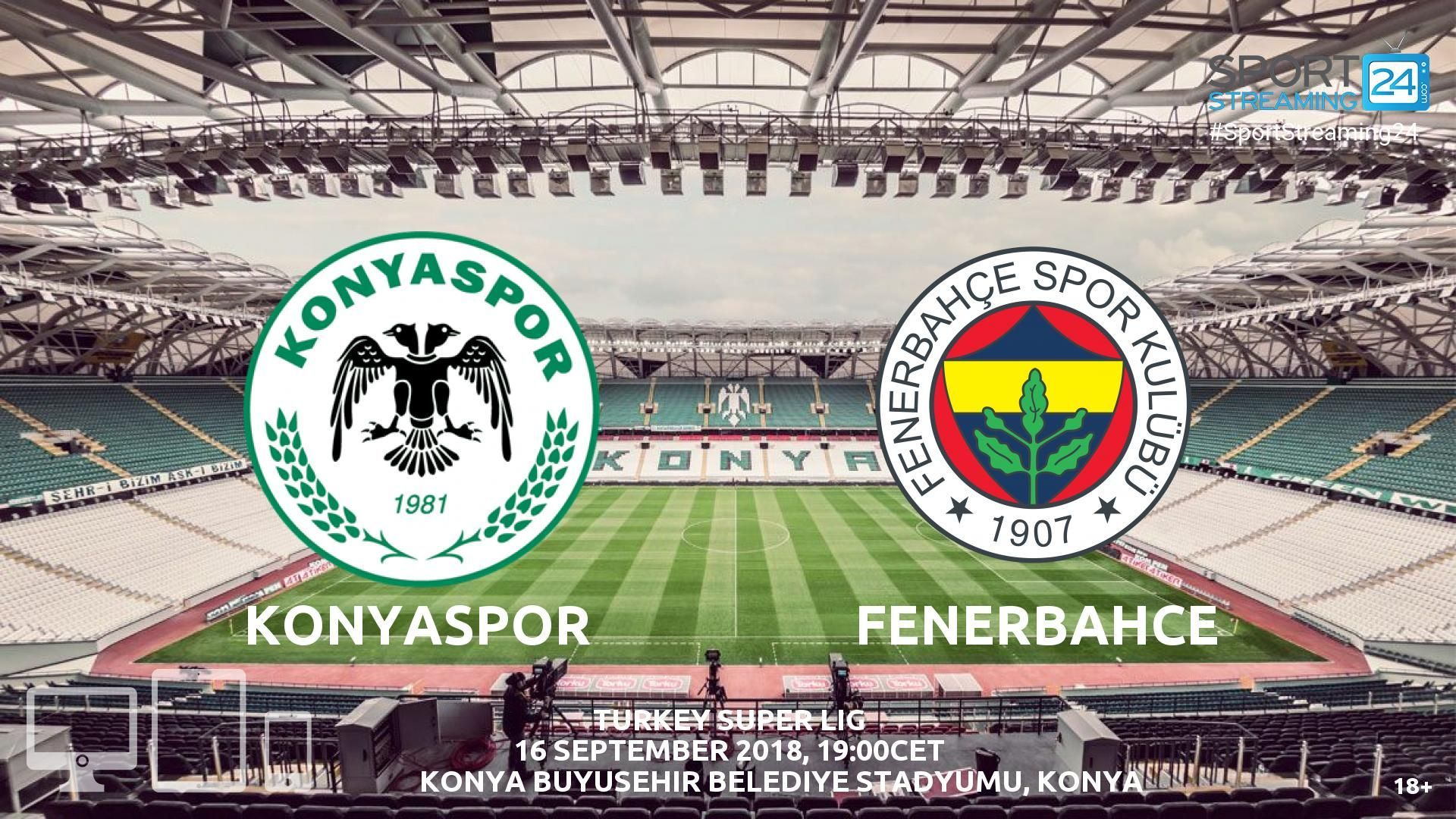 Konyaspor Fenerbahce Live Stream