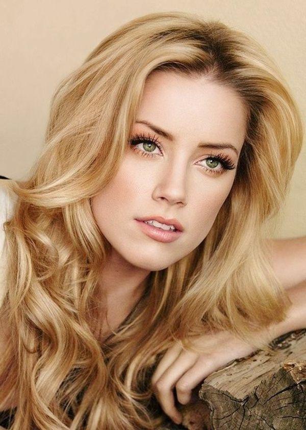 Makeup For Fair Skin Blonde Hair And Green Eyes Amber Heard
