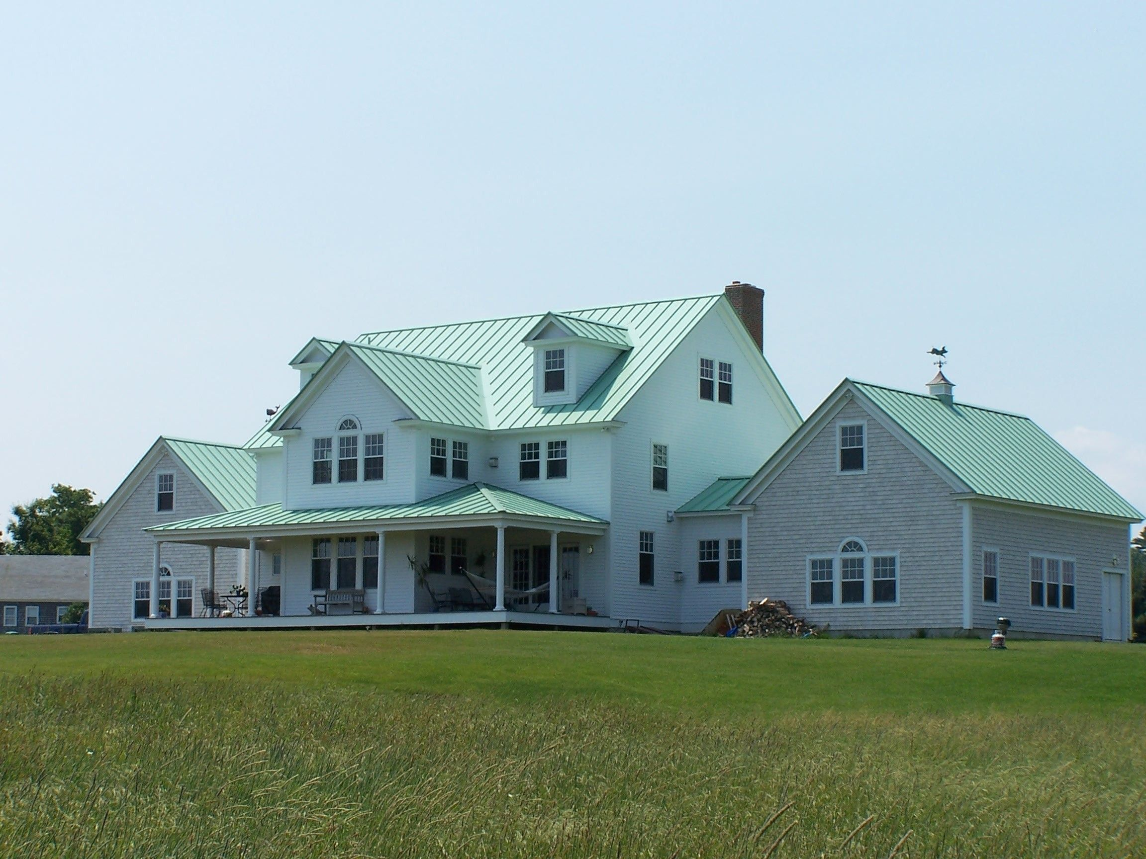 Zinc The Dark Horse Of Metal Roofing Zinc Roof Costs And Pros Cons Home Remodeling Costs Guide Zinc Roof Standing Seam Metal Roof Metal Roof