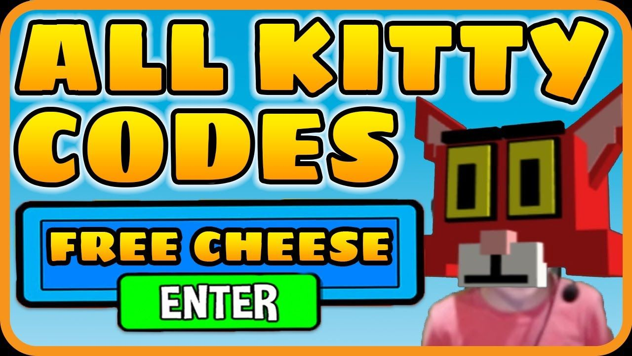 [ALL] Roblox Kitty Codes for FREE CHEESE RGCfamily in