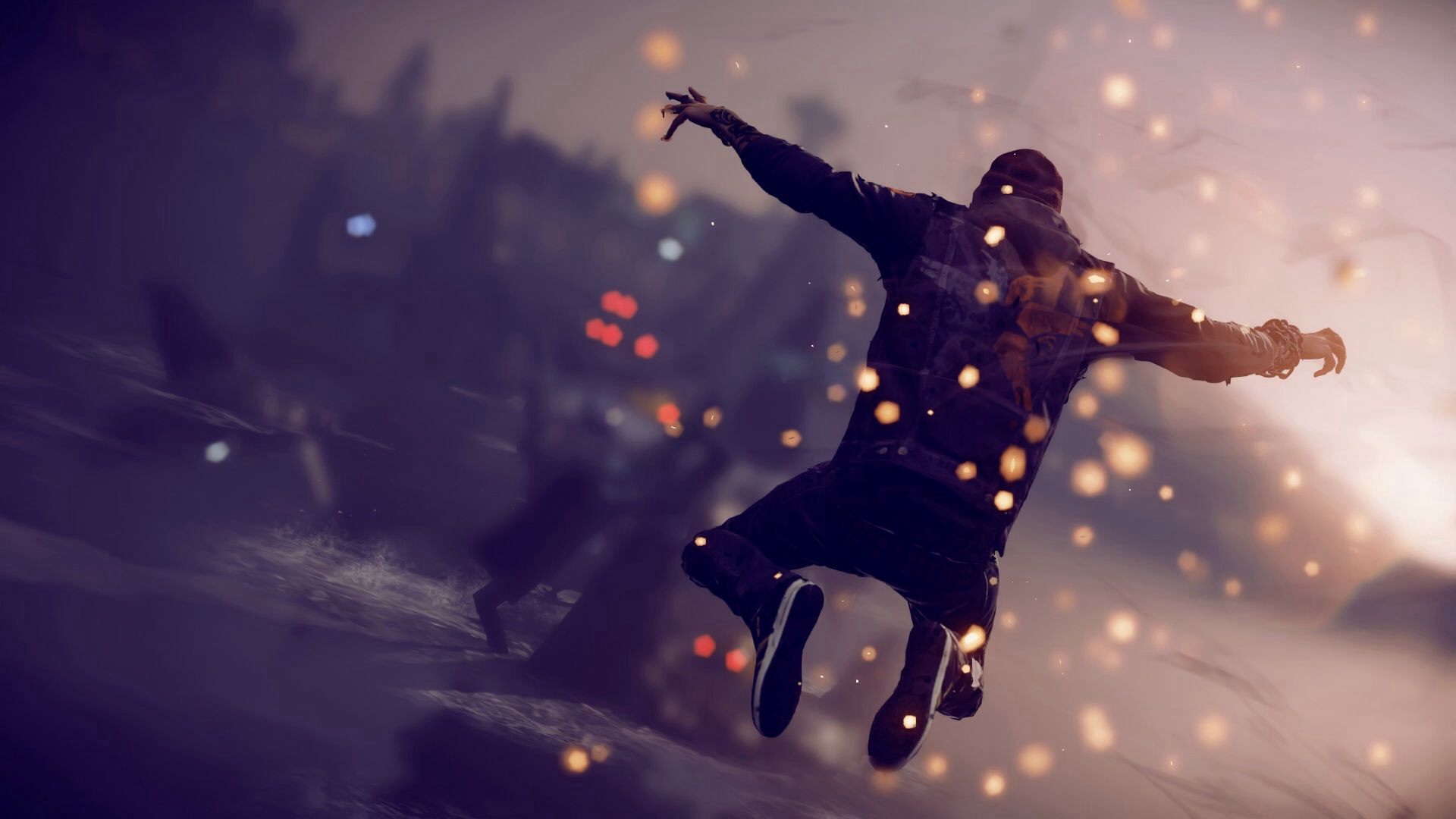Infamous Second Son Hd Oboi Fony Wallpaper 1920 1080 Infamous