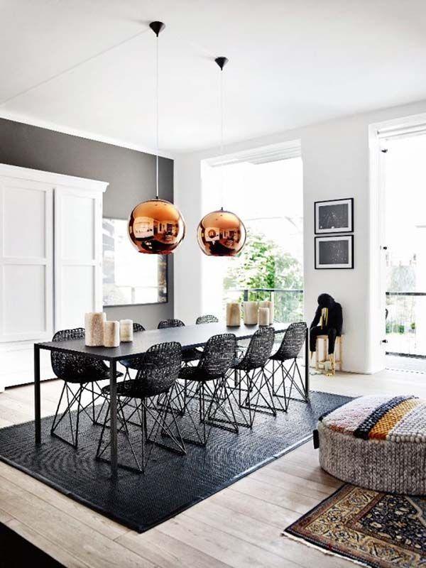 Vous Devez Voir Cette Merveilleuse Salle A Manger Avec Des Meubles De Luxe Pour Vous Aider A Ameliorer Le Decor D Cool Room Decor Dining Room Design Home Decor