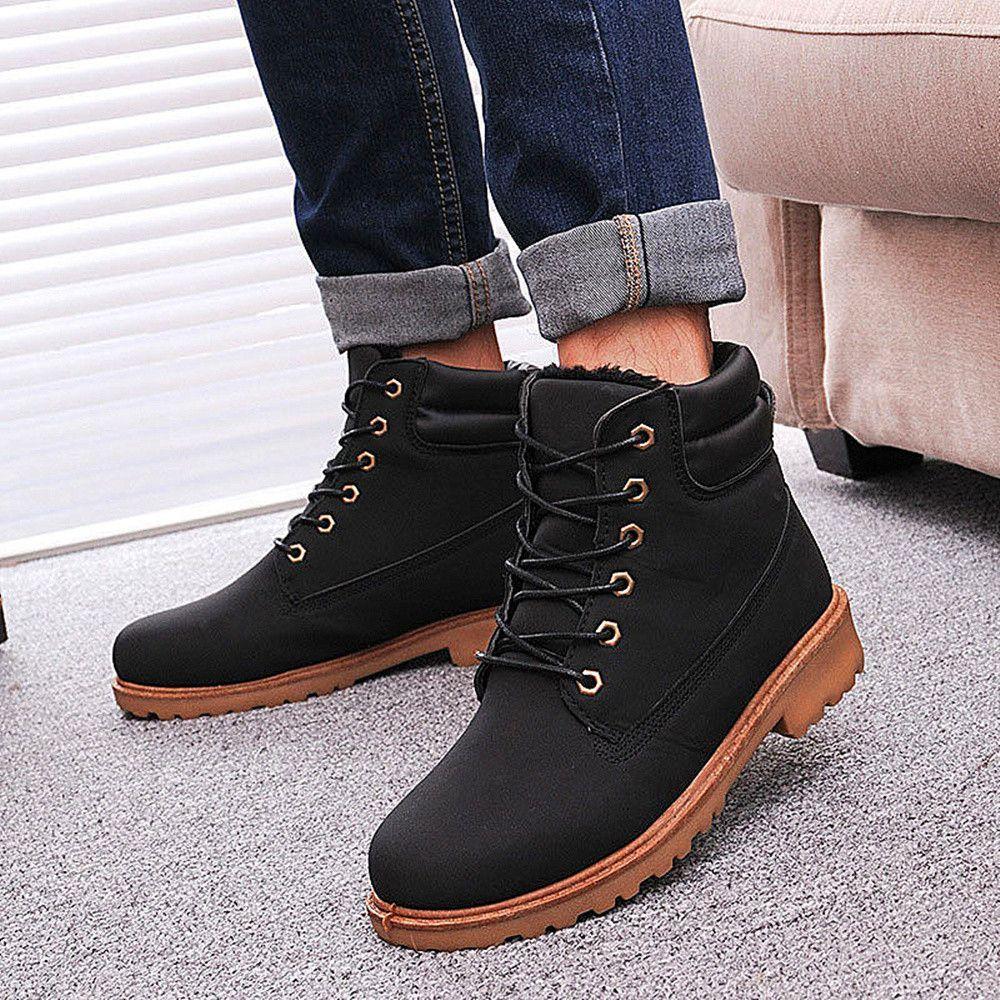 Men Snow boots Men Winter Boots Warm