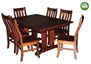 Aspen Tree Interiors Solid Wood Heirloom 9 Piece Dining Room