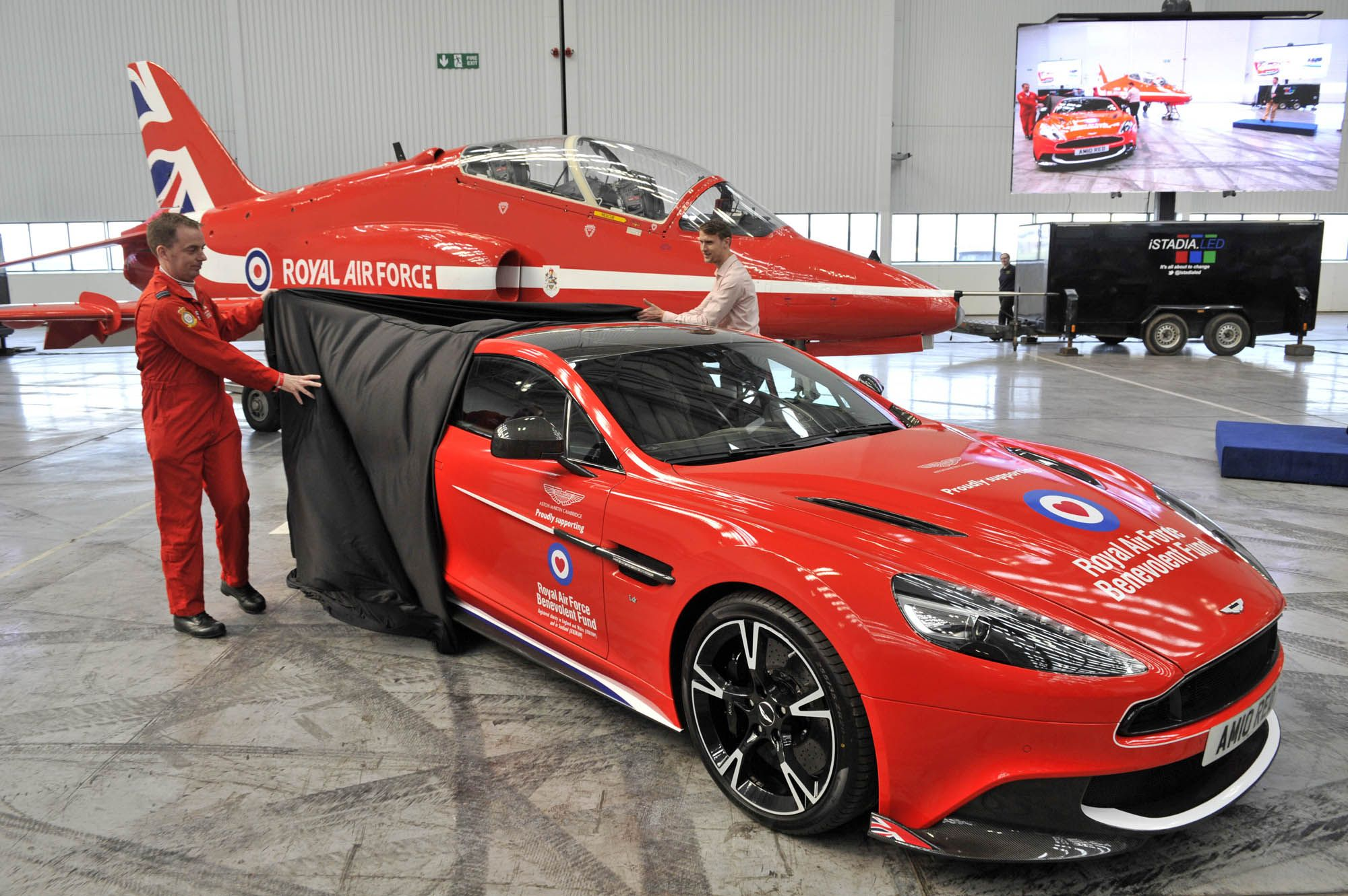 Pin by RAF Benevolent Fund on Aston Martin Red Arrows Car