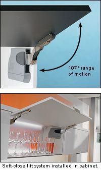 Blum Aventos HK Soft Close Lift System   Lee Valley Tools