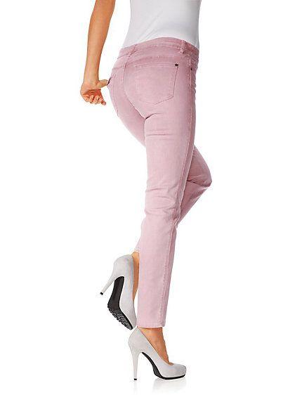 Linea Tesini - Röhrenhose rosé im Heine Online-Shop kaufen