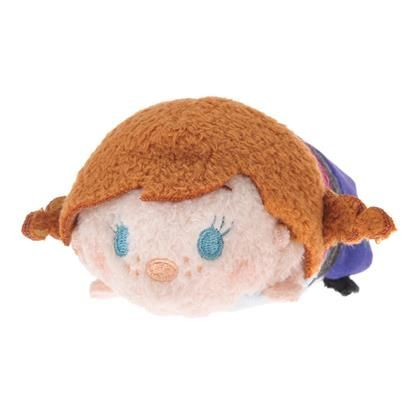 Anna as a Tsum Tsum. Do we have her? Either way she is adorable