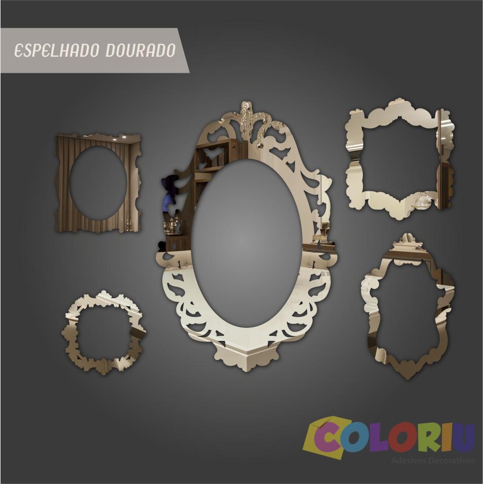 Espelhos decorativos molduras vintage coloriu espejos for Espejos decorativos vintage