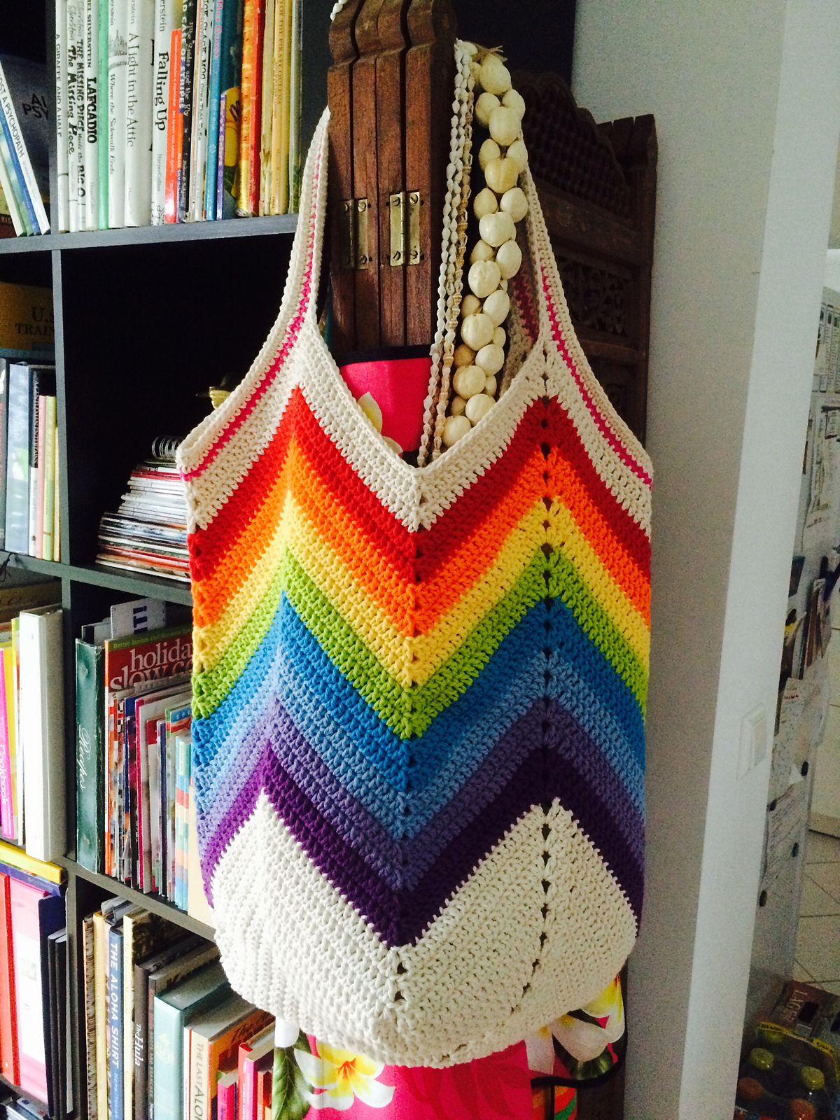 Solid Granny Square Bottom Bag Crochet Tutorial Pattern By
