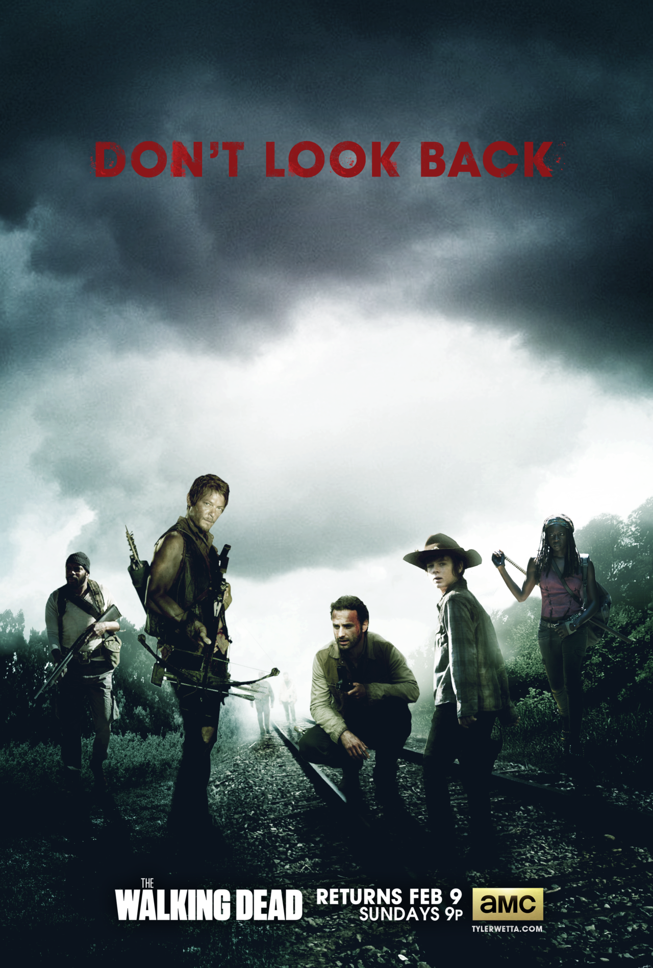 The Walking Dead Poster Season 4 By Ancoradesign On Deviantart The Walking Dead Poster The Walking Dead The Walking Dead Tv