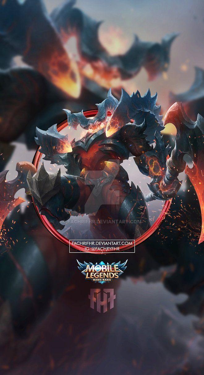 Marvelous Wallpaper Phone Thamuz Lord Lava By FachriFHR