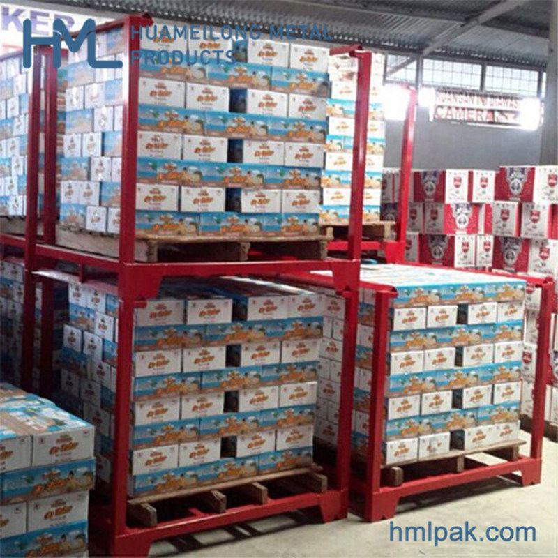 Hot Item Foldable Stabled Post Metal Stacking Pallets Rack For Warehouse Storage In 2020 Pallet Rack Post Metal Racking System