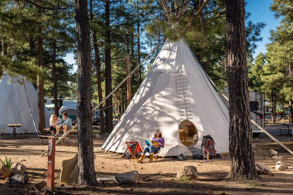 Spend The Night Under A Tepee At This Unique Arizona ...