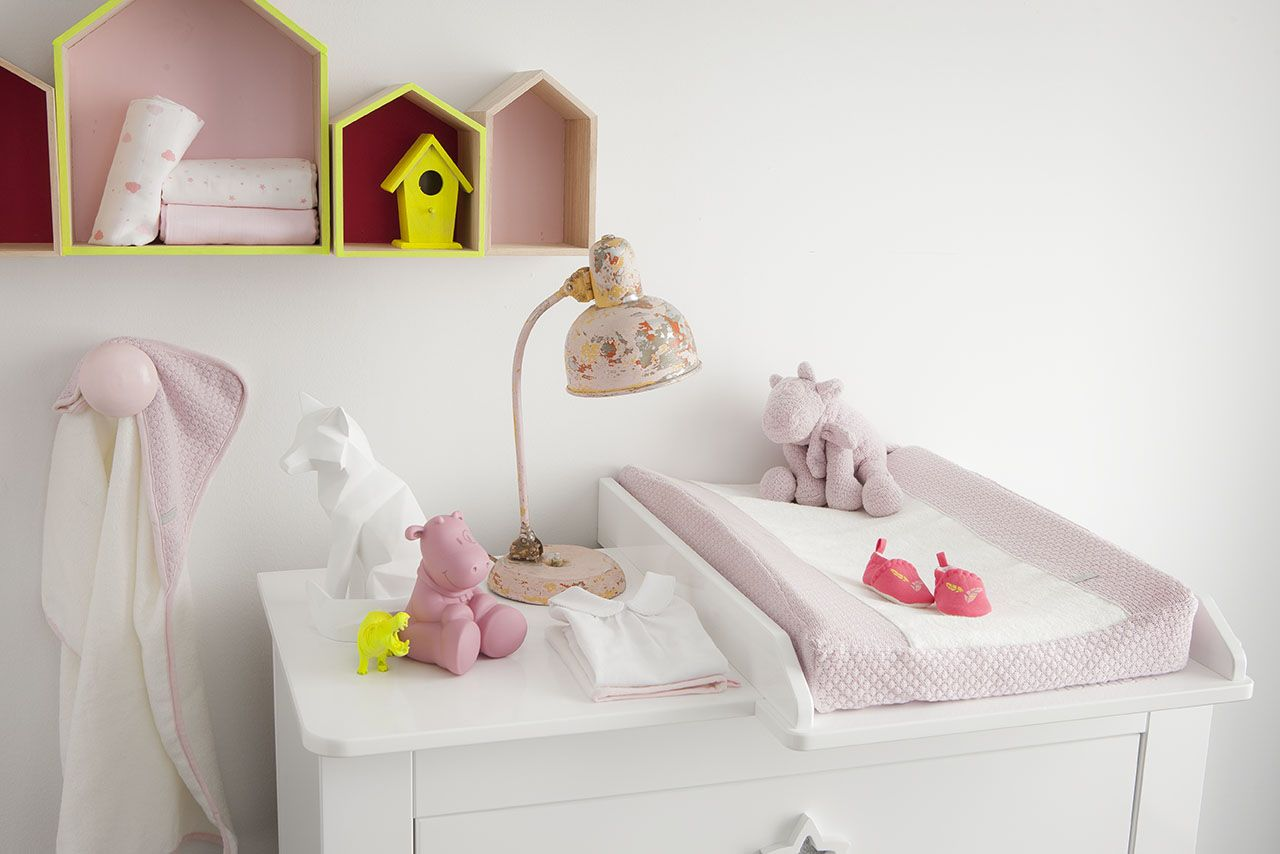 The Sublime Collection Noukie S Pink And Yellow Baby Room For Little Girls Chambre Bebe Rose Et Jaune Pour Petites Filles