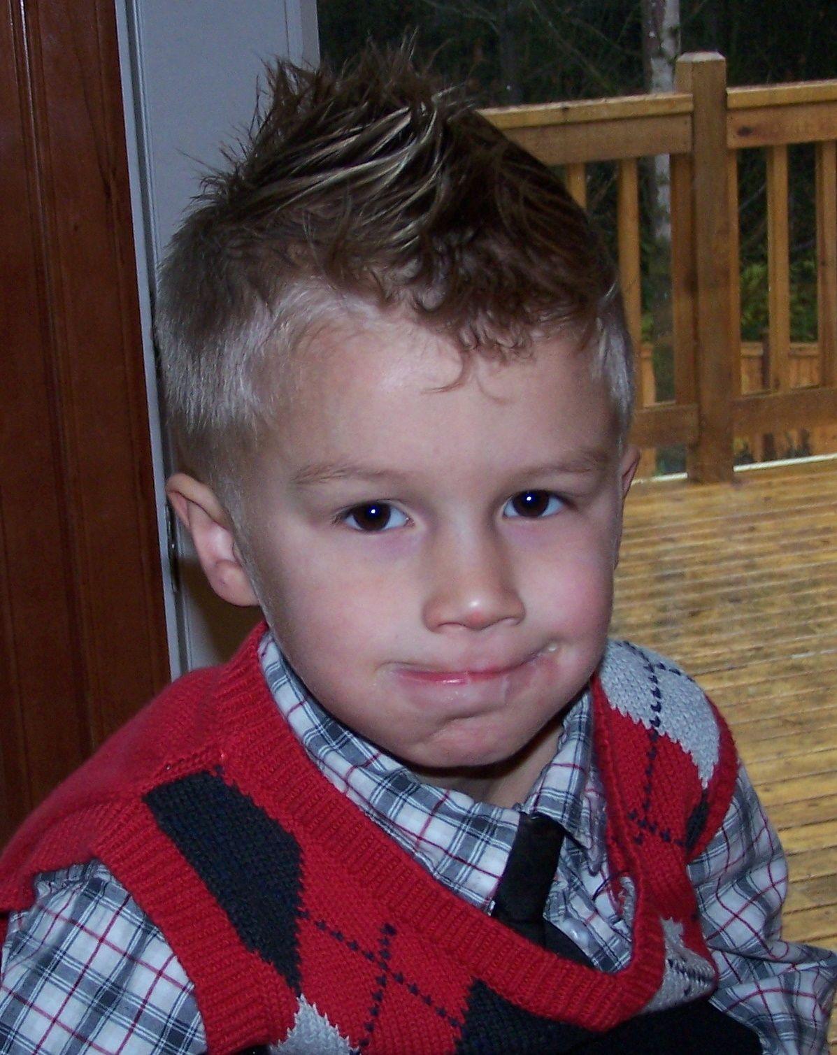 Little Boys Mohawk Hairstyles Boys Faux Hawks Styling Jack