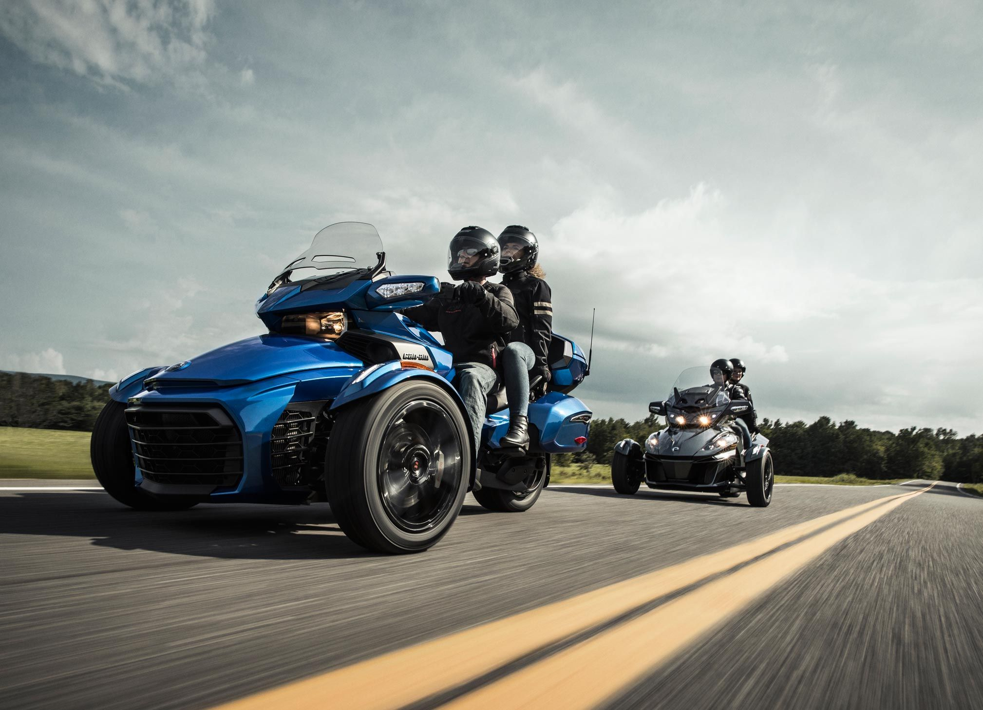 Saddle up for the ride of your life The new 2018 Can Am Spyder