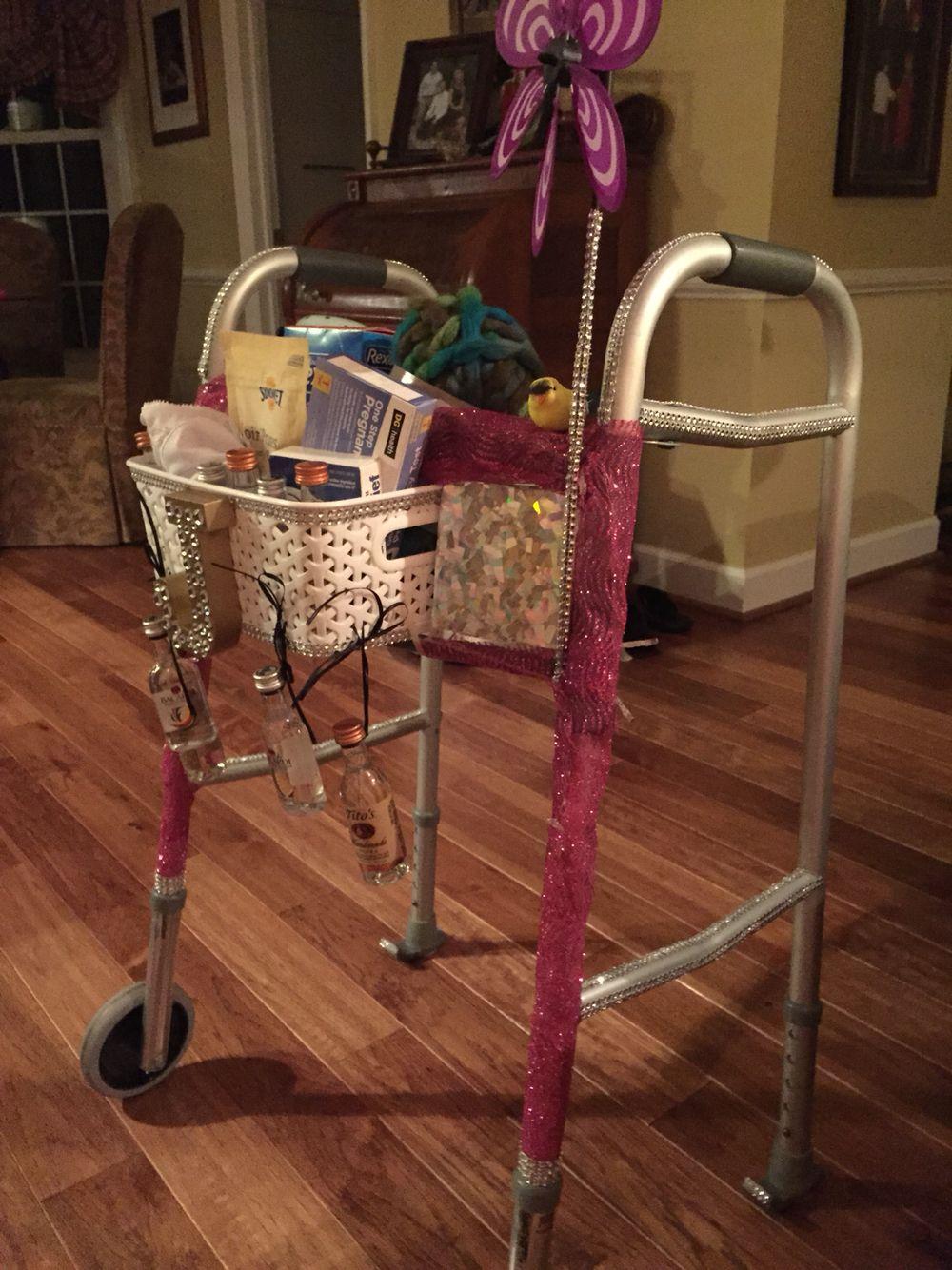 birthday walker over the hill diy birthday gift ideas. Black Bedroom Furniture Sets. Home Design Ideas