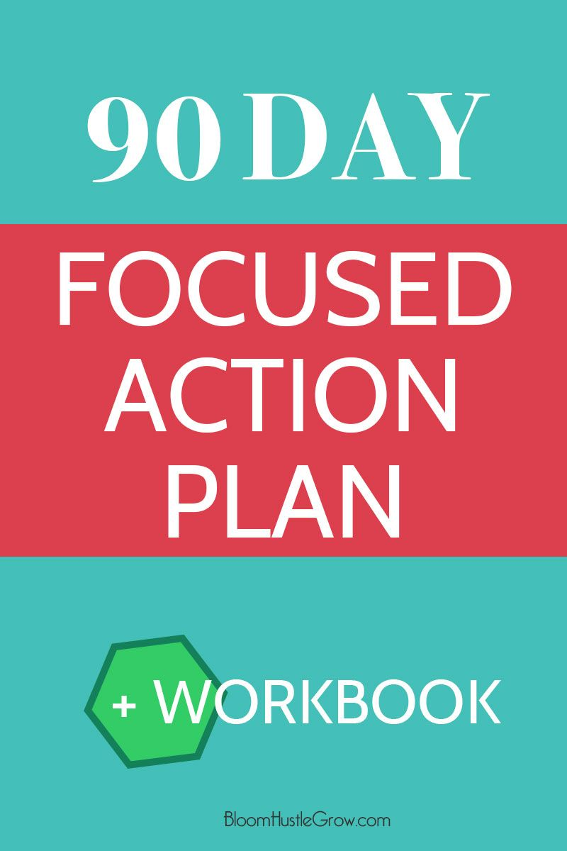 The  Day Focused Action Plan  Action Worksheets And Business