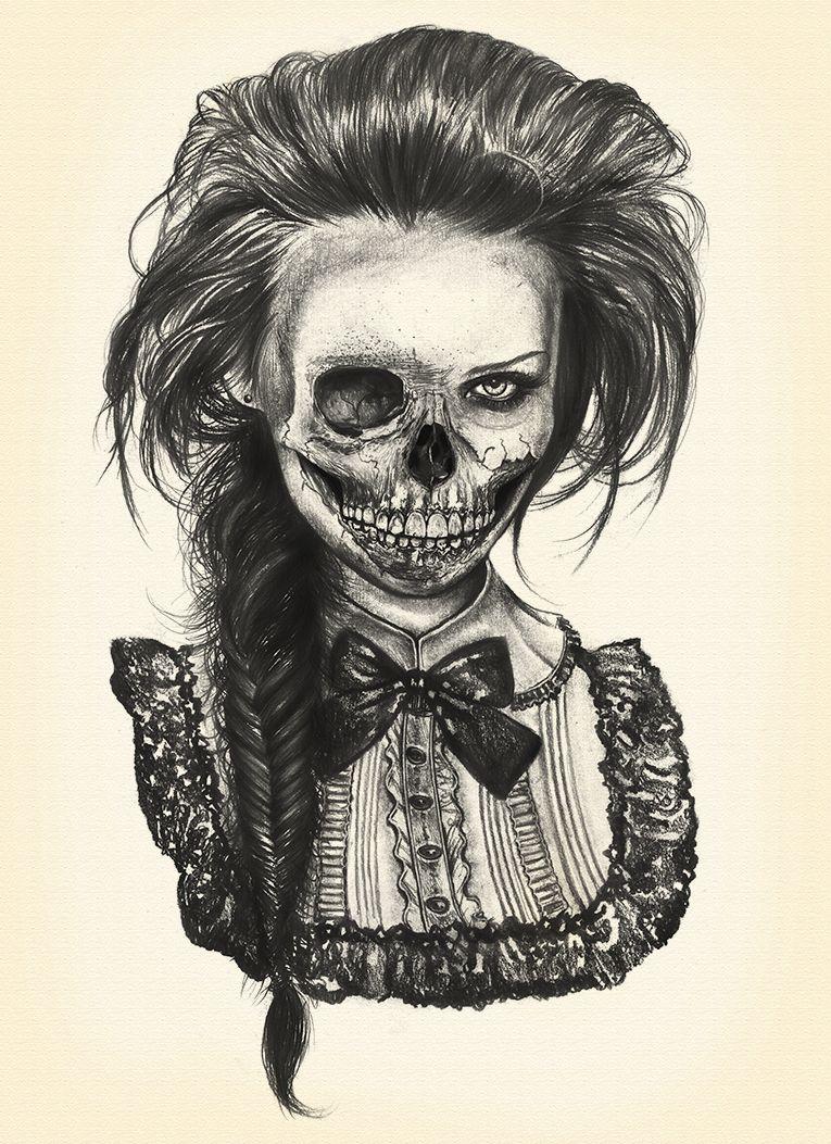 Diego quintana blog arties pinterest zombie girl for Mirror zombie girl