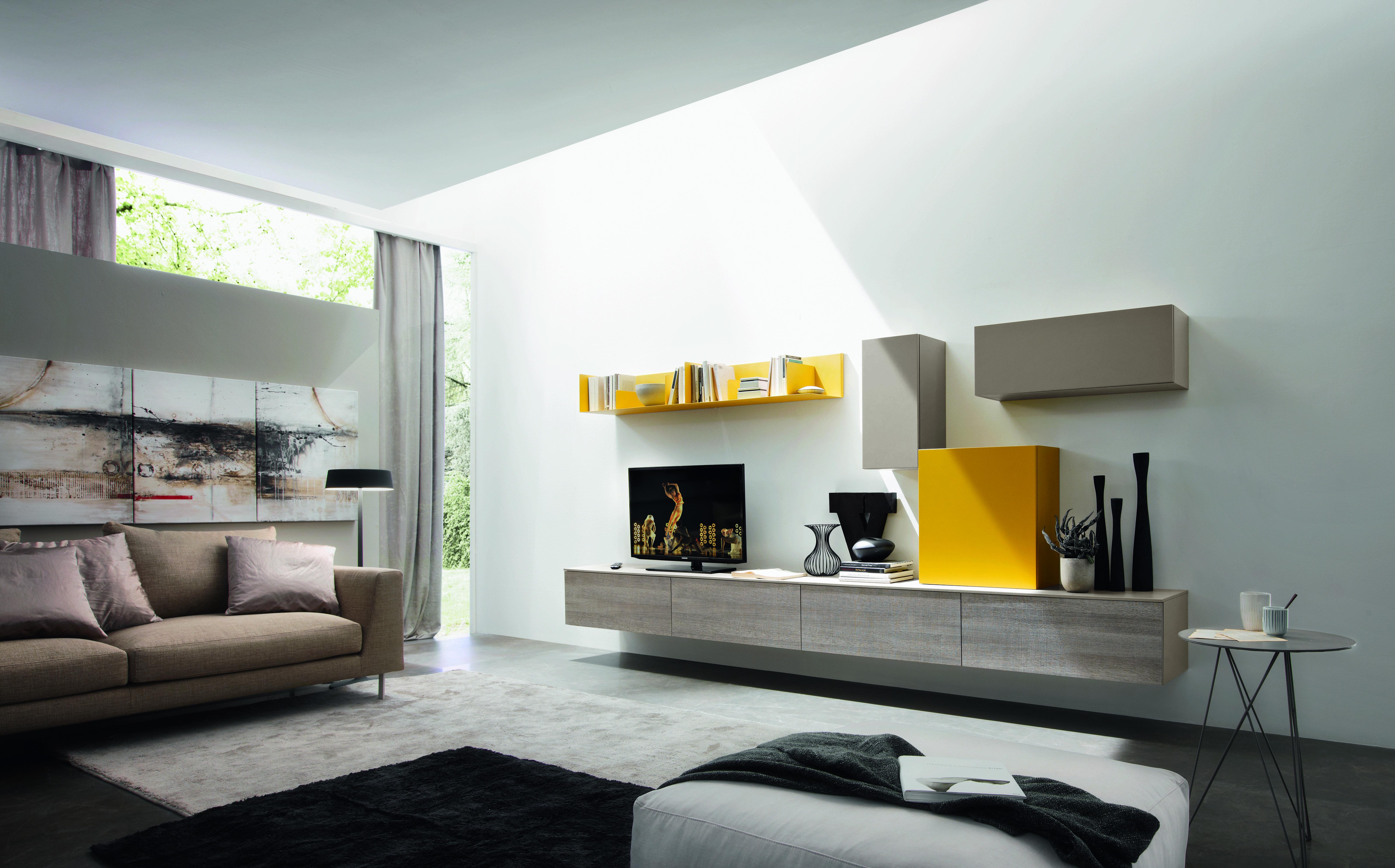 www.cordelsrl.com #parete soggiorno #mobilisumisura # | Soggiorni ...