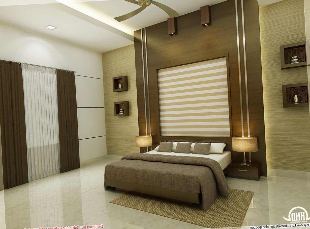 Bedroom Design In Kerala   Master bedroom interior, Simple ...