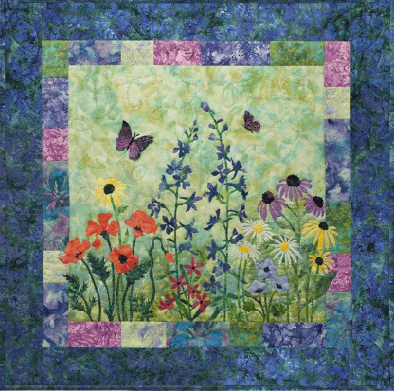 17 Best 1000 images about watercolor quilts on Pinterest Gardens
