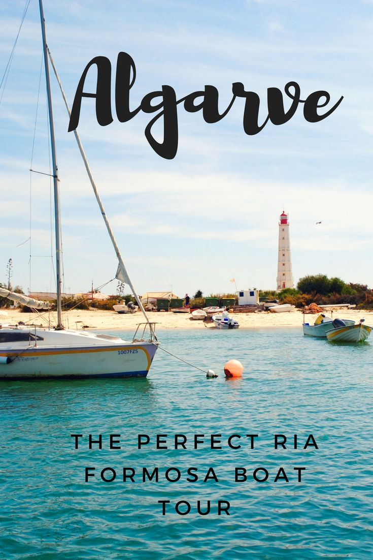 Sailing in the Algarve Our Ria Formosa Boat Tour Travel Blogs Pinterest