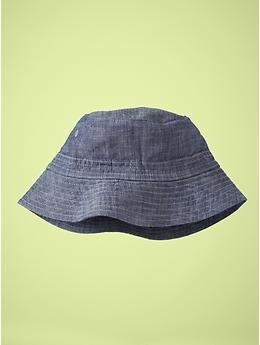 282428eba6dfd Baby GAP Chambray bucket hat.