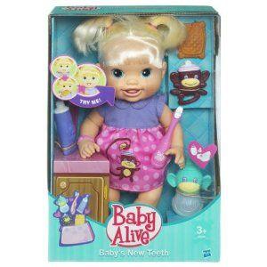 Baby Alive Baby's New Teeth Aubree's First Feeding! FAIL ...  |Baby Alive New Teeth