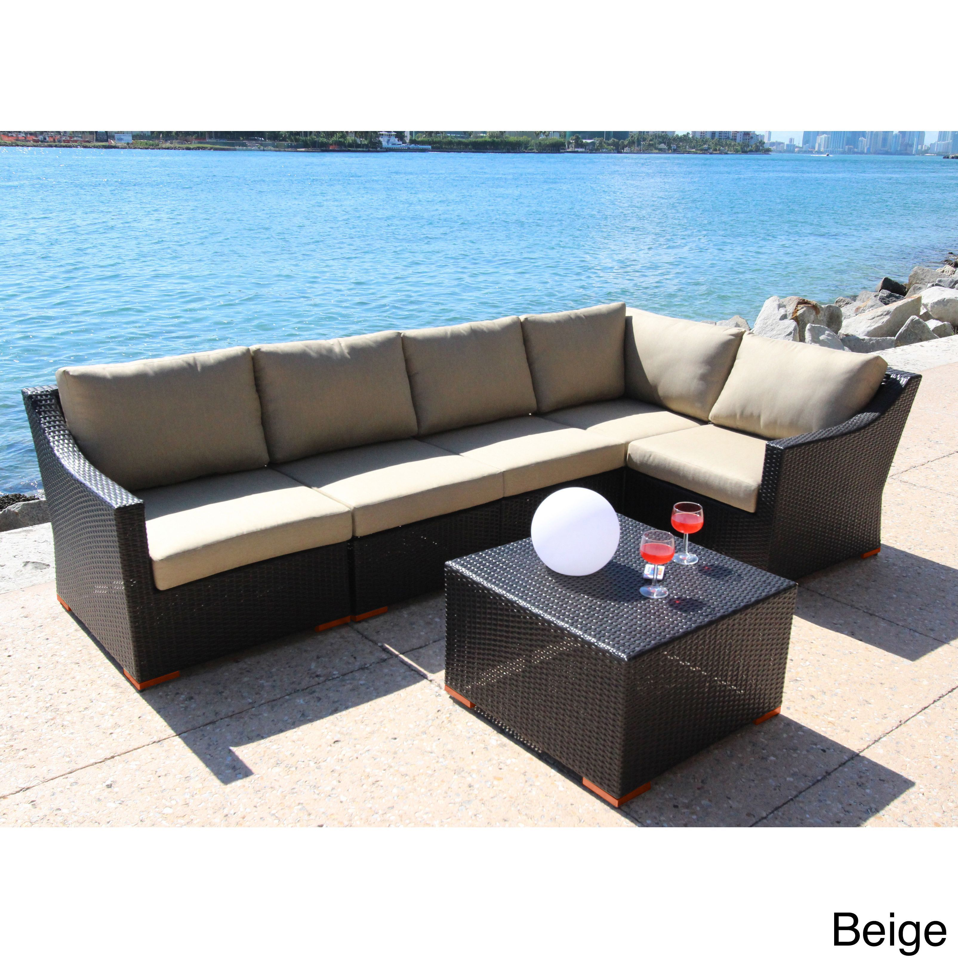 Bellini Home and Garden Anne piece Conversation Sectional Seating