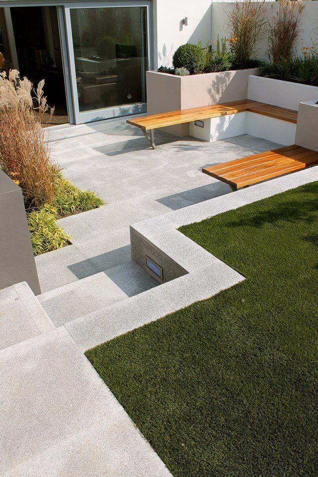 Contemporary Garden. Dublin.   Jardins, Terrasse, Idee deco