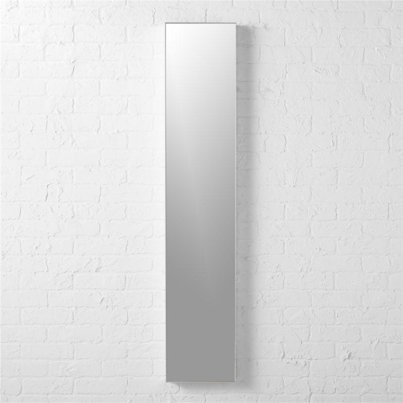 Shop Infinity 10 5 Quot X54 Quot Narrow Wall Mirror Mirror