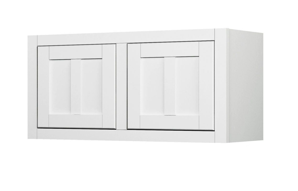 Unique White Linen Cabinet with Doors