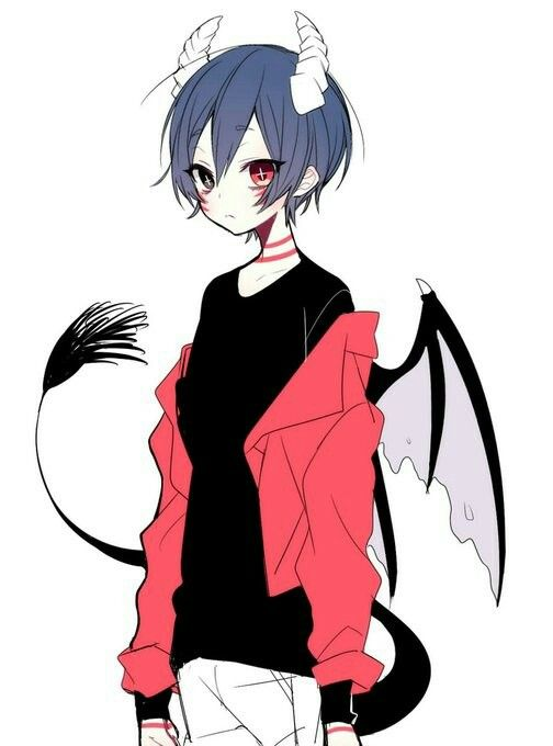 anime boy guy devil