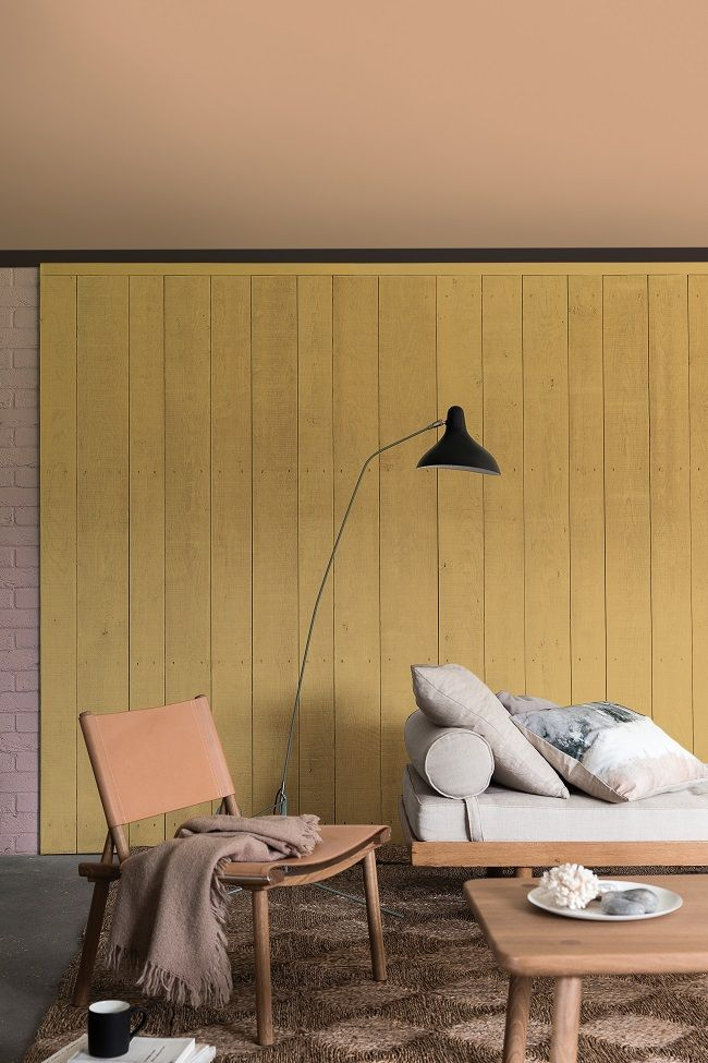 New Gold Wall Paint Ideas
