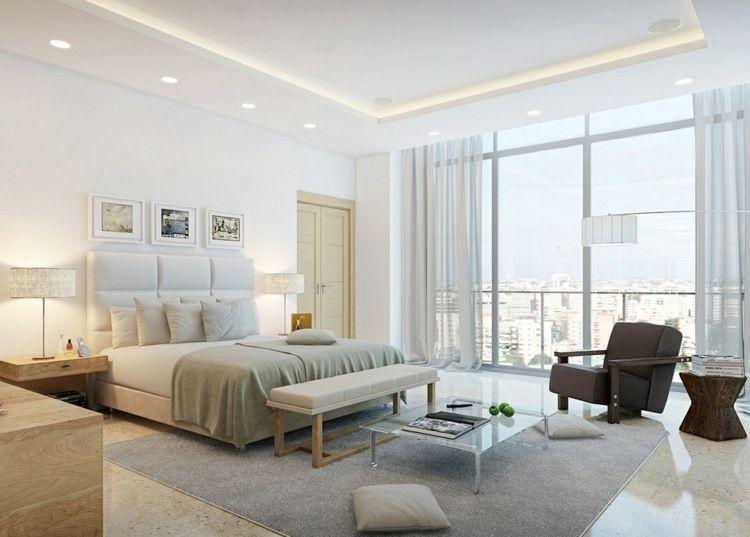 Schlafzimmer komplett in Weiß einrichten Moebel Pinterest - schlafzimmer komplett weiß