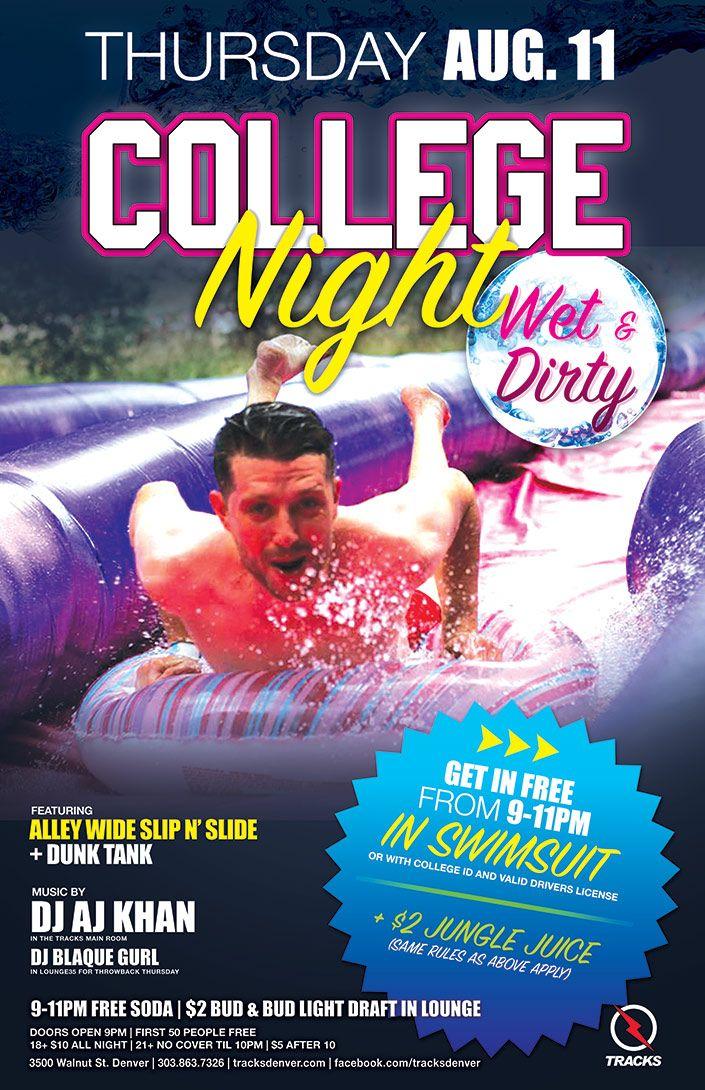 rules Slip n slide college