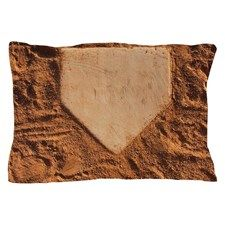 Home Plate Pillow Case Baseball Room Baseball Field Orioles Baseball