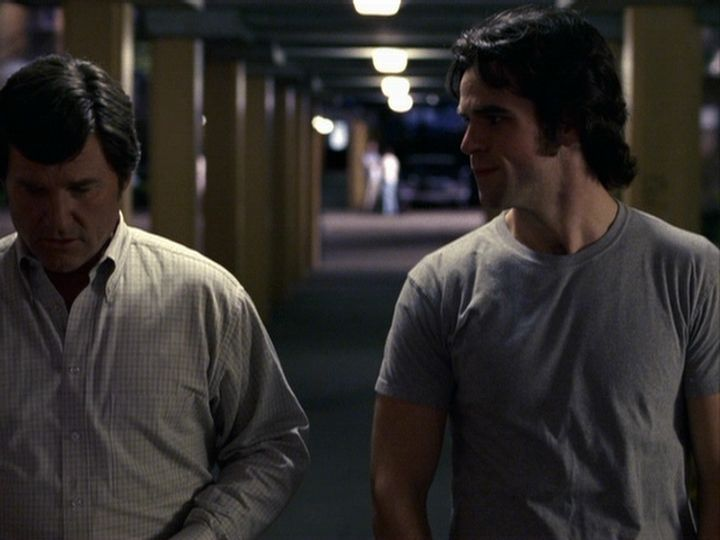 Eddie Cahill in Miracle with a bonus Kurt Russell.