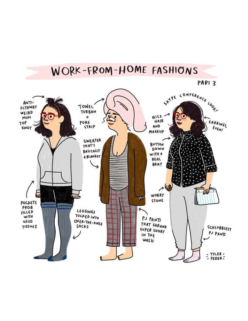 Work From Home Fashions Part 3 Digital Download in 2021