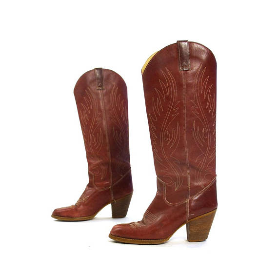 70s Cowboy Boots
