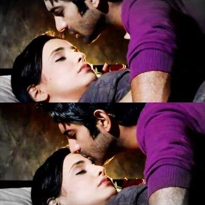 Arnav kissing Kushi on her forehead | kushi & arnave